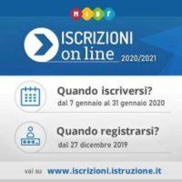 iscizioni on line